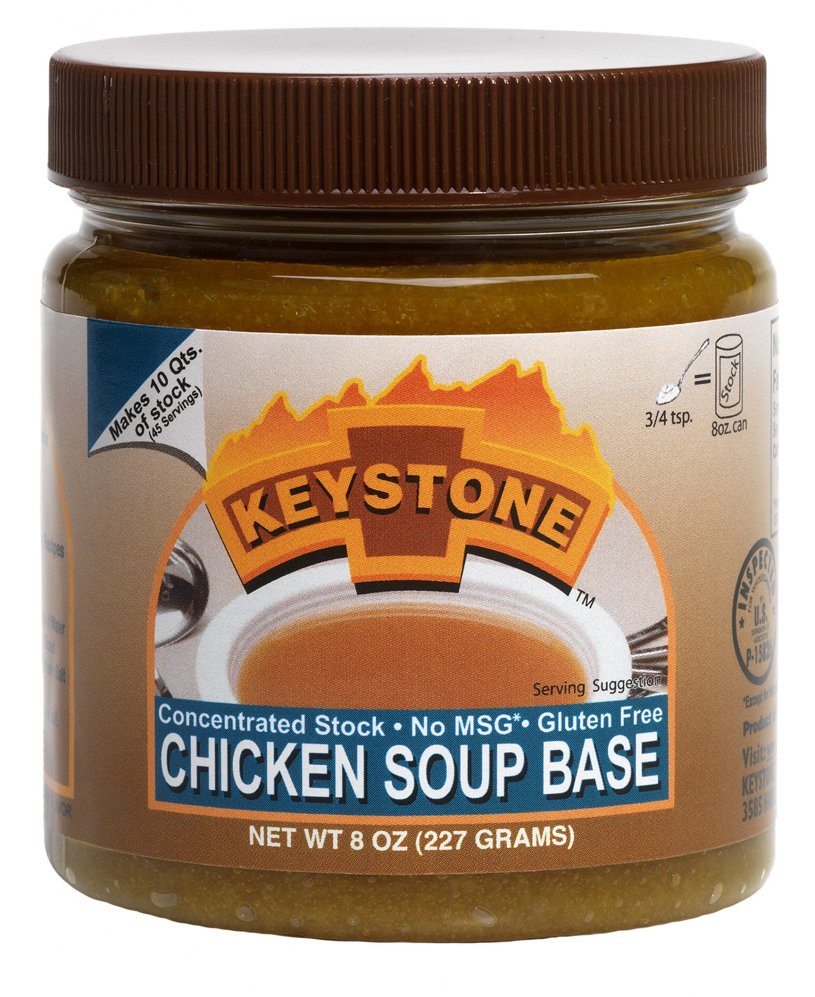 Chicken Soup Base  Keystone Chicken Soup Base6 jars – 8 oz – Keystone Meats