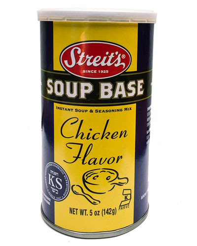 Chicken Soup Base  Chicken Flavored Soup Base Streits Matzos
