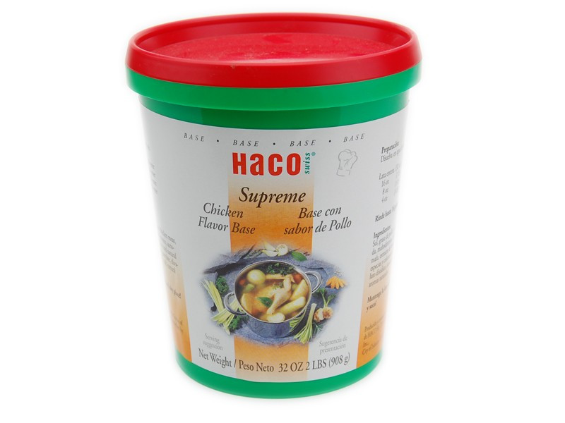 Chicken Soup Base  Haco Chicken Base Paste No Added MSG