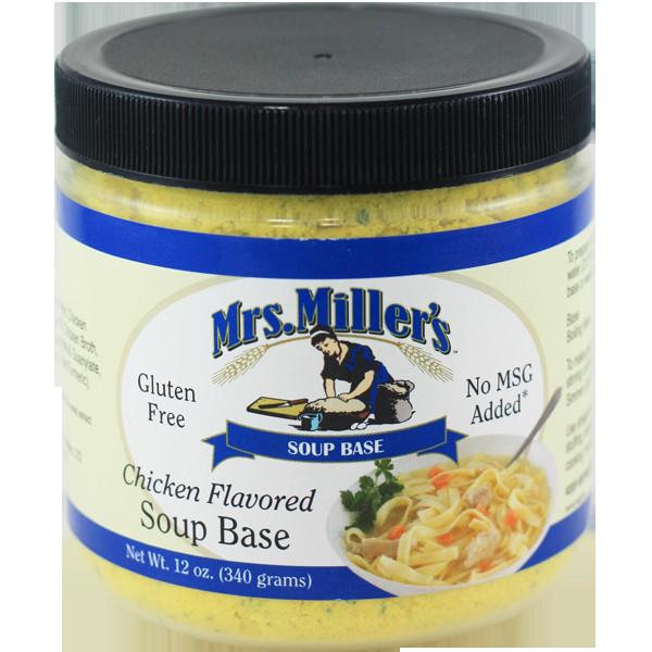 Chicken Soup Base  Soup Base — Mrs Miller s Homemade Noodles