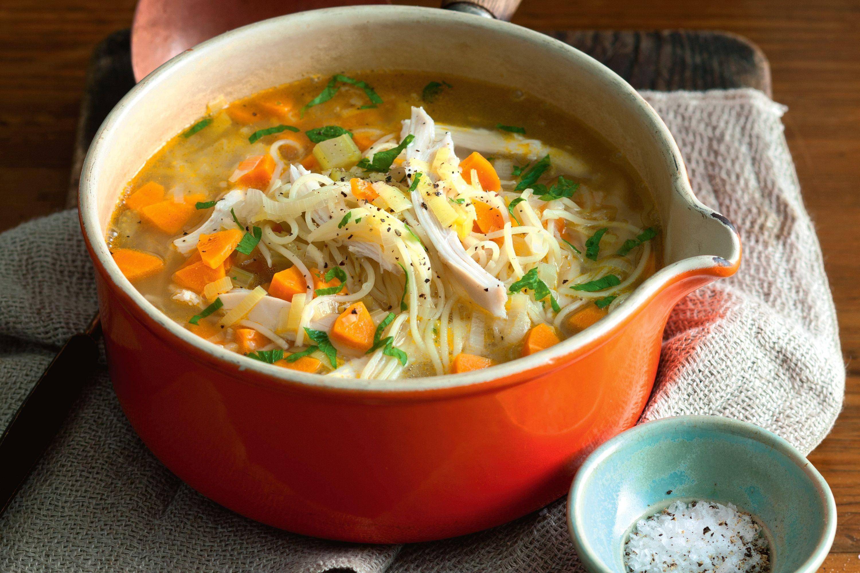 Chicken Soup Recipe  vermicelli chicken noodle soup