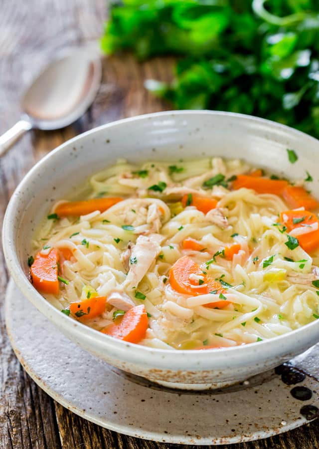 Chicken Soup Recipe  Homemade Chicken Noodle Soup Jo Cooks