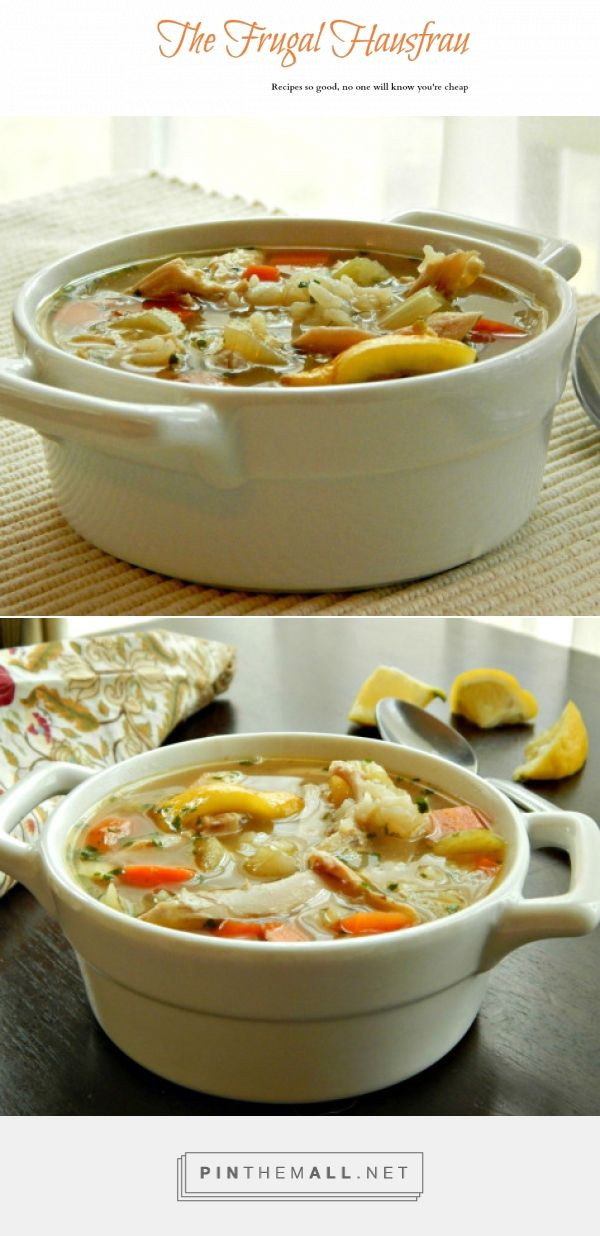 Chicken Soup Recipes From Scratch  Chicken & Rice Soup From Scratch with home made broth it