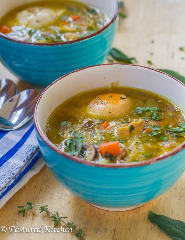 Chicken Soup Recipes From Scratch  Paleo Chicken Noodle Soup from Scratch