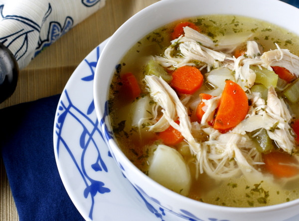 Chicken Soup Recipes From Scratch  Chicken Noodle Soup