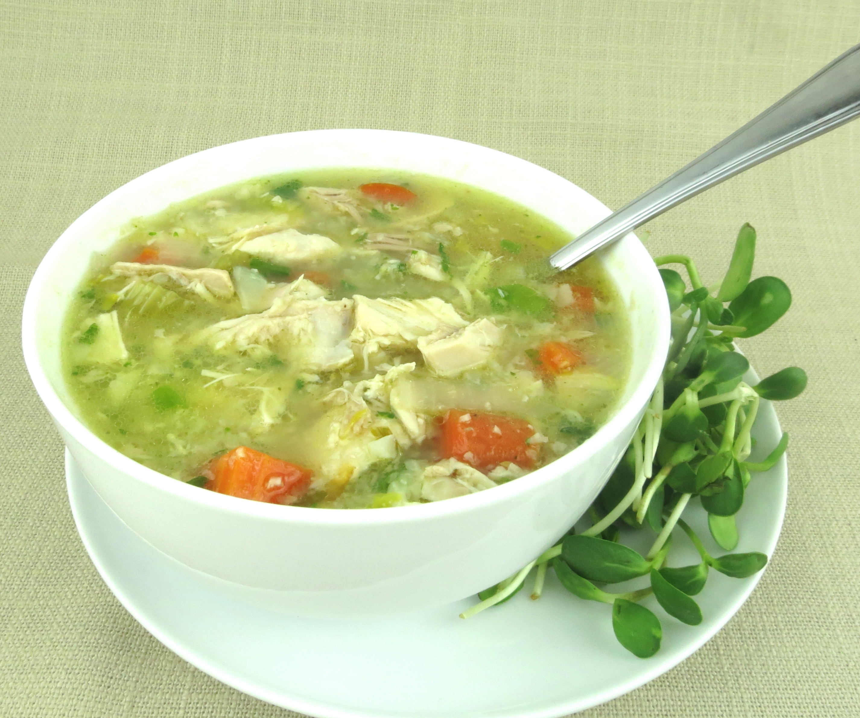 Chicken Soup With Rice  My Favorite Fall Recipes