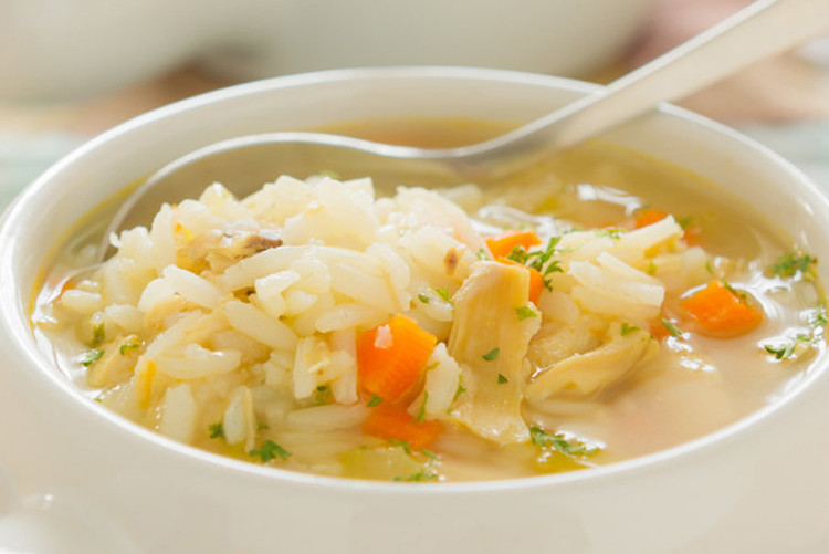 Chicken Soup With Rice  Slow Cooker Cream of Chicken and Rice Soup