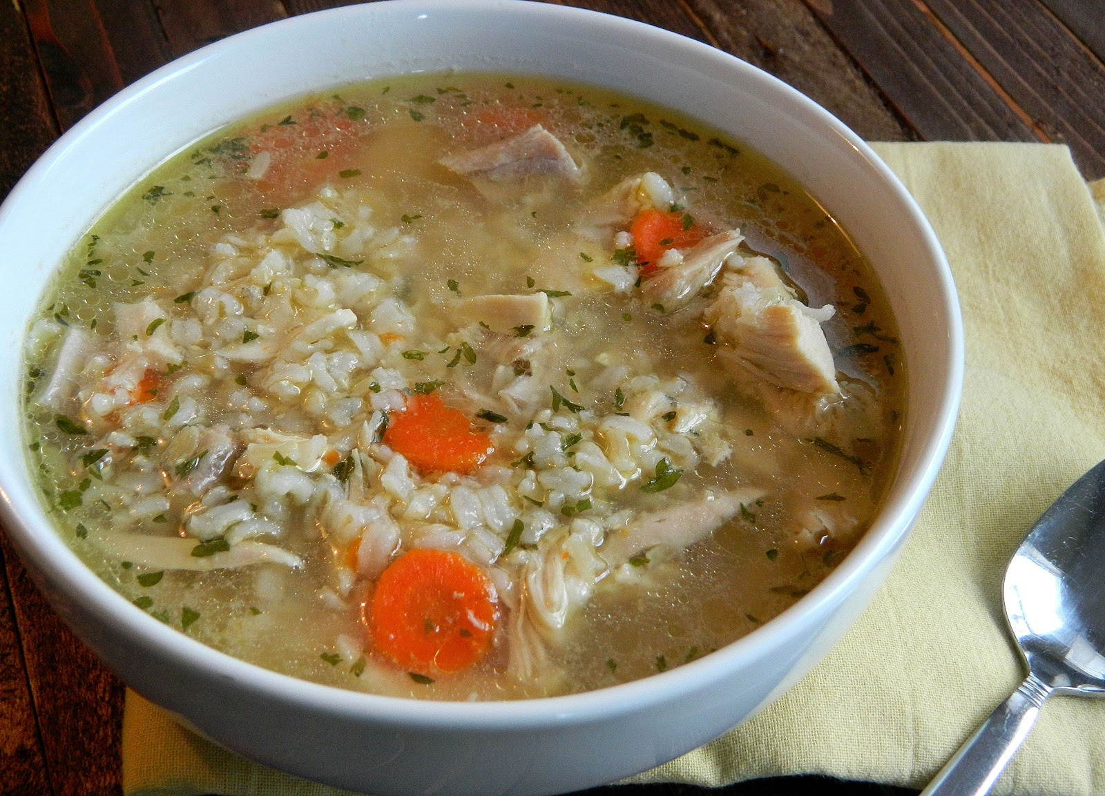 Chicken Soup With Rice  chicken rice soup recipes