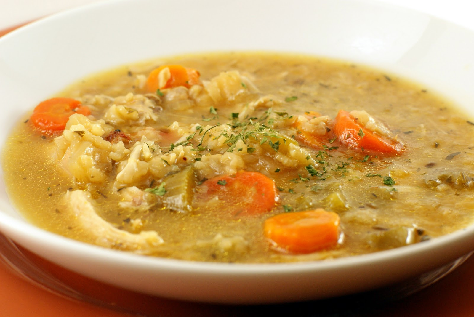 Chicken Soup With Rice  Spicy Chicken and Rice Soup Living FODMAP Free