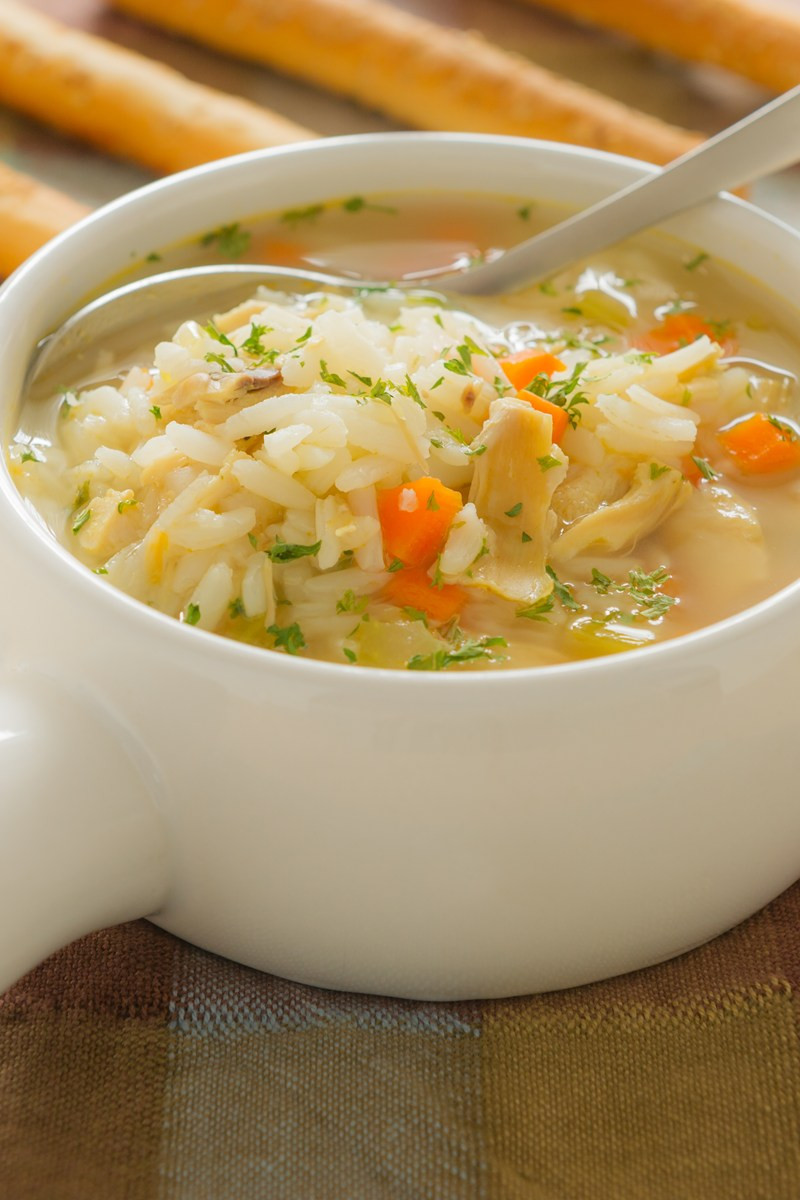 Chicken Soup With Rice  Lemon Chicken Rice Soup