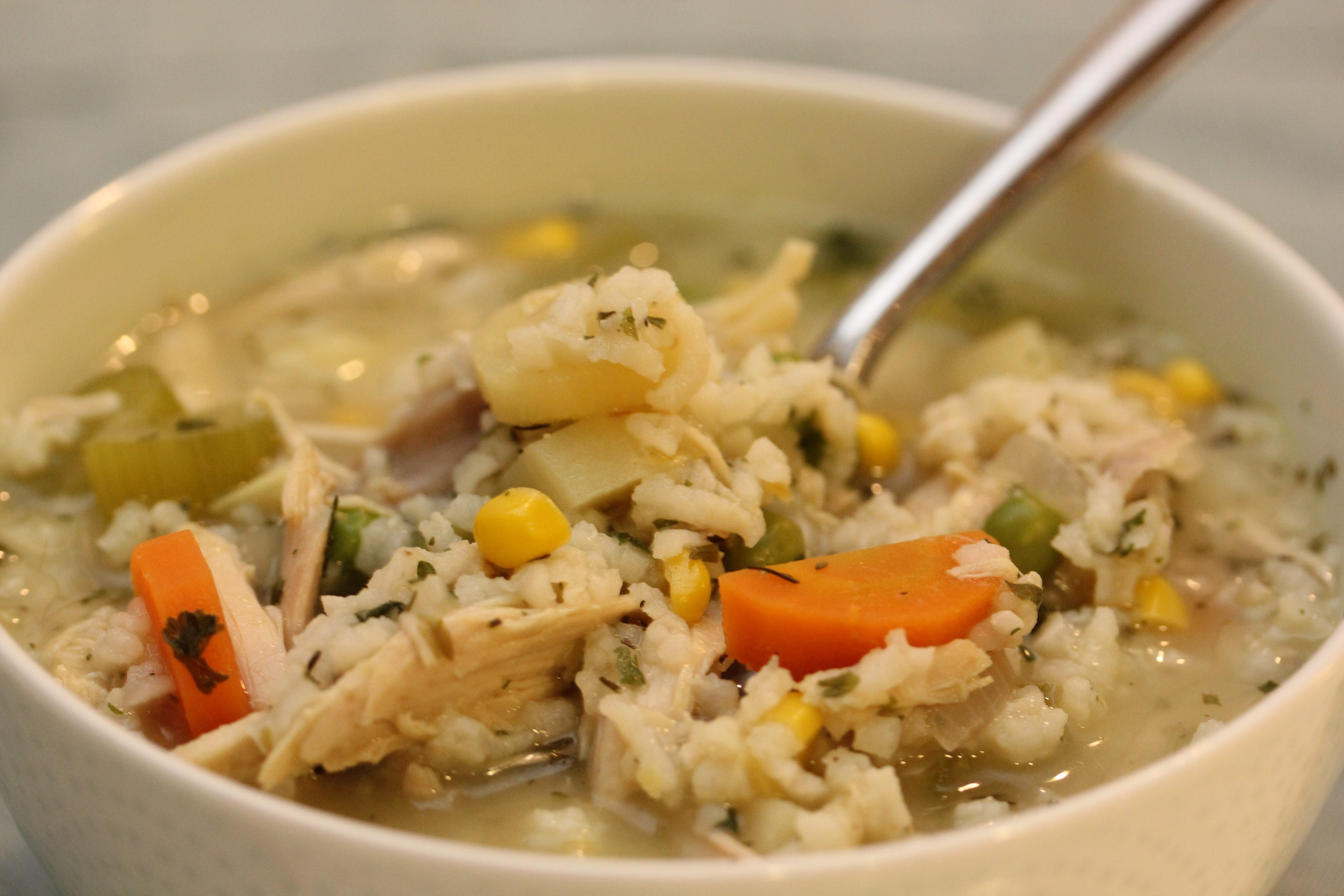 Chicken Soup With Rice  Soup Recipes in Urdu Chinese Pinoy for Kids with
