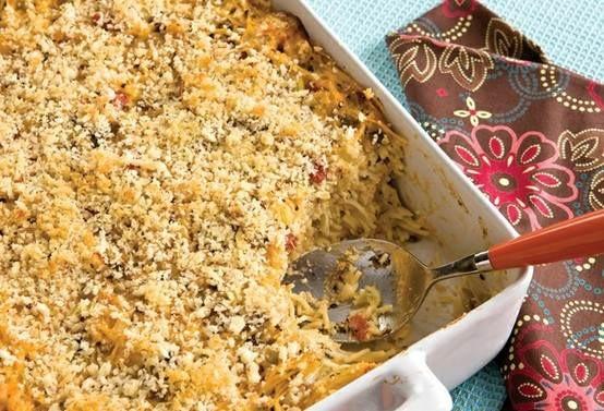 Chicken Spaghetti Recipe Paula Deen  Paula Deen s Chicken Spaghetti