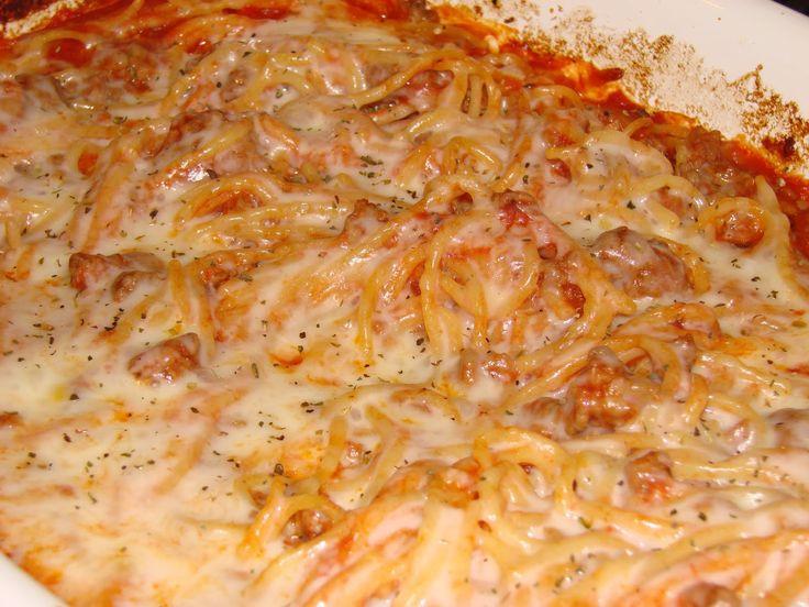 Chicken Spaghetti Recipe Paula Deen  Paula Deen s Spaghetti Casserole Paula Deen