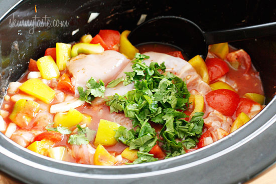 Chicken Stew Crock Pot  Crock Pot Chicken a la Criolla