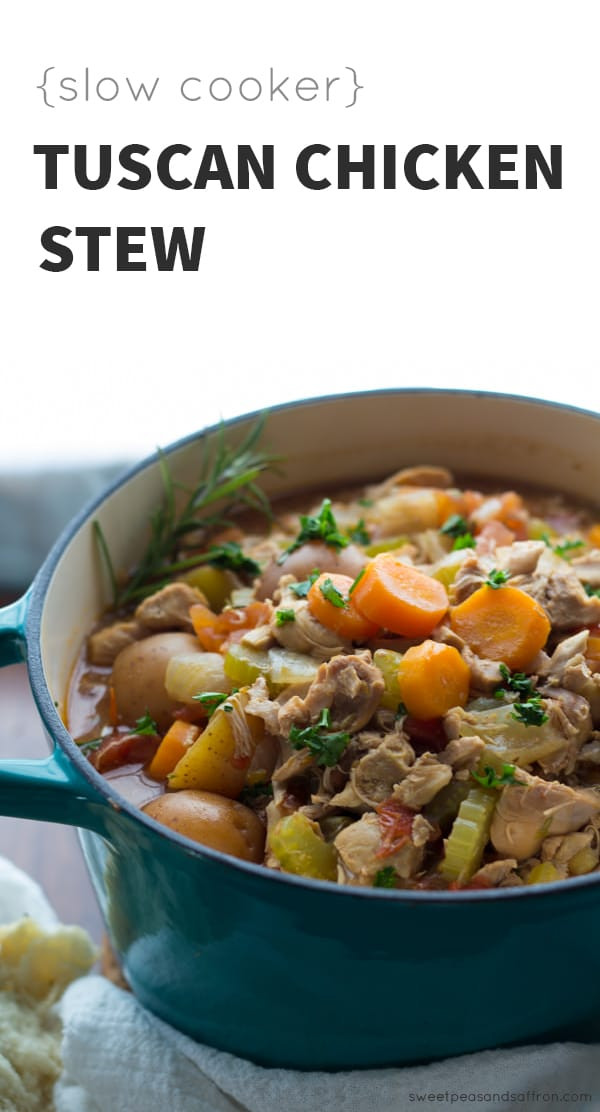 Chicken Stew Crock Pot Recipe  Slow Cooker Tuscan Chicken Stew Instant Pot Instructions