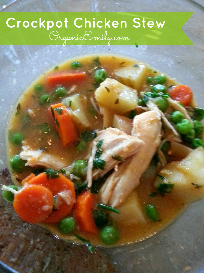 Chicken Stew Crock Pot  Crockpot Chicken Stew