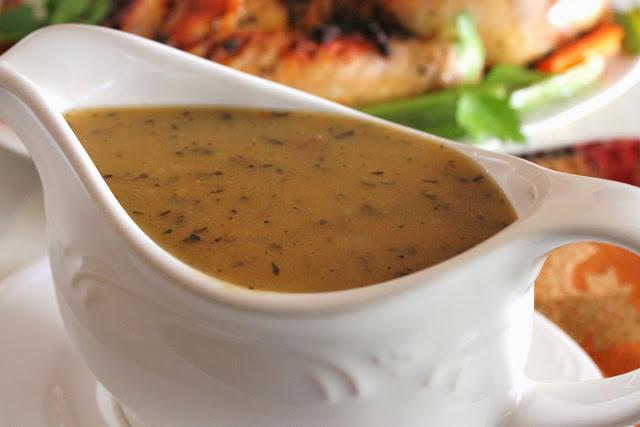 Chicken Stock Gravy  Delicious as it Looks Low FODMAP Turkey Gravy
