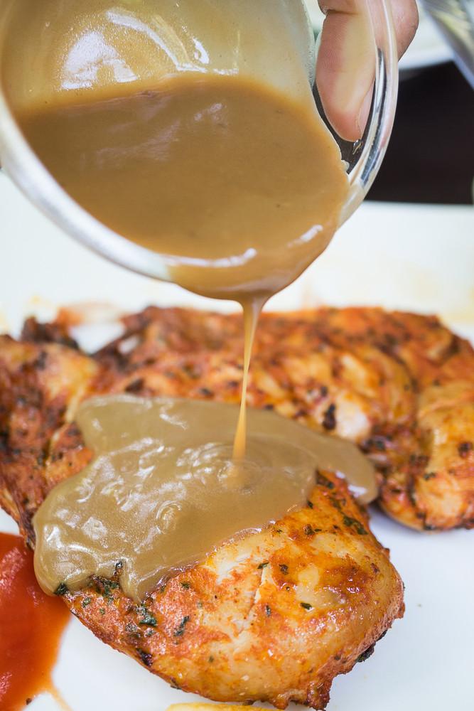 """Chicken Stock Gravy  Low Calorie Recipe Chicken """"Gravy"""" HCG Diet"""