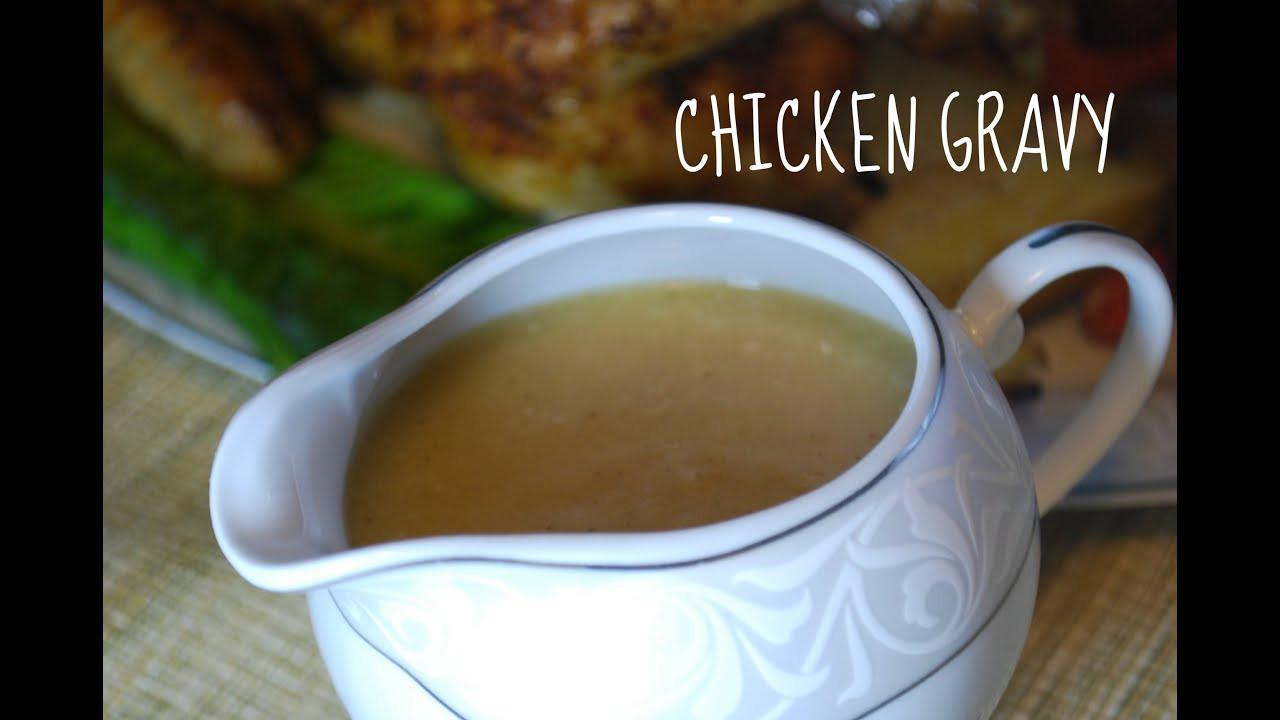 Chicken Stock Gravy  Chicken Gravy from Drippings