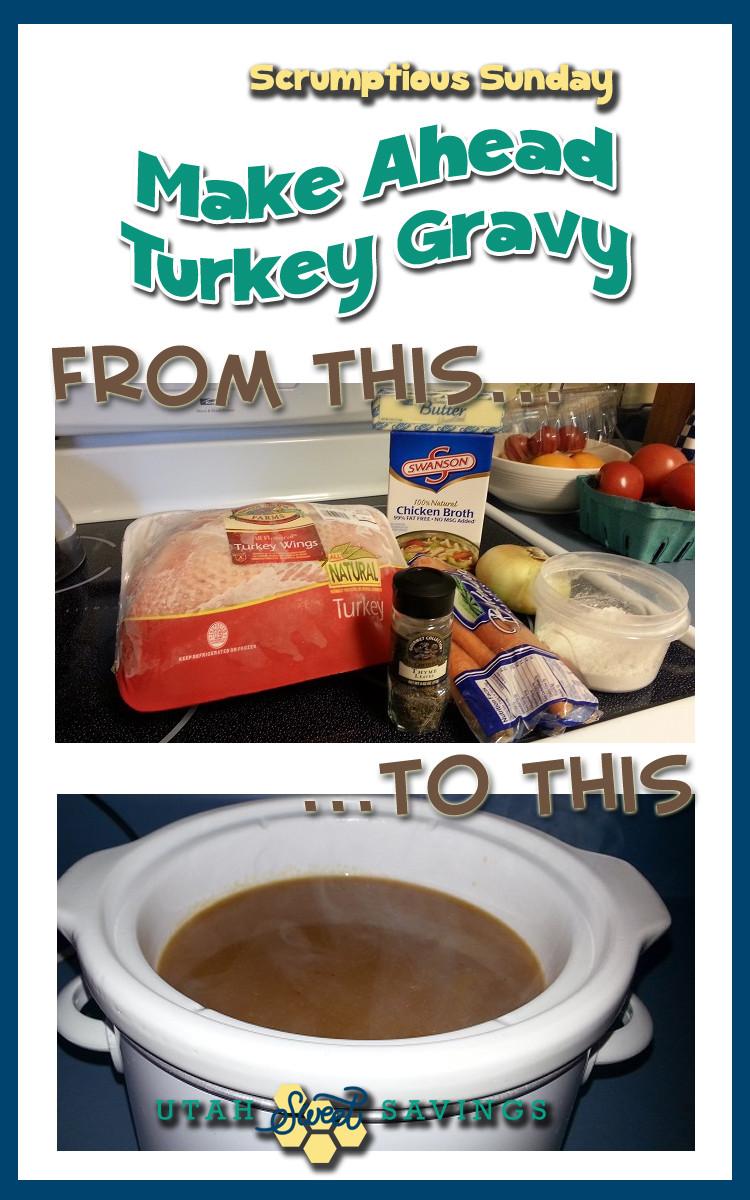 Chicken Stock Gravy  turkey gravy with chicken broth