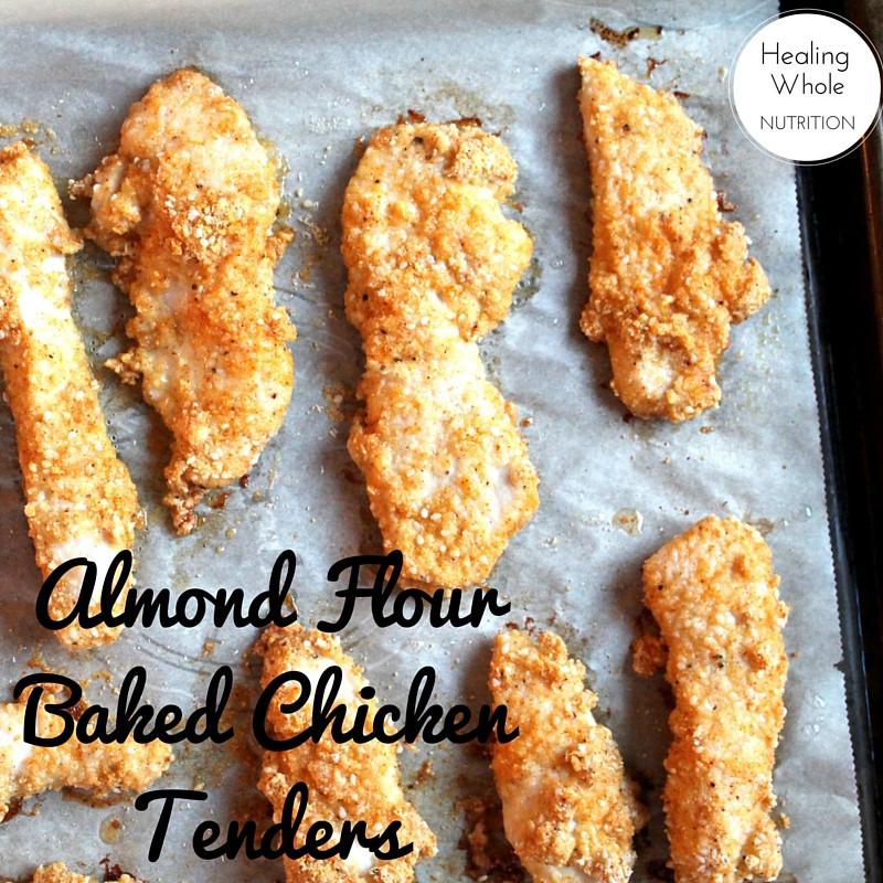 Chicken Tenders Nutrition  meal plan & grocery list week 3 healing whole nutrition
