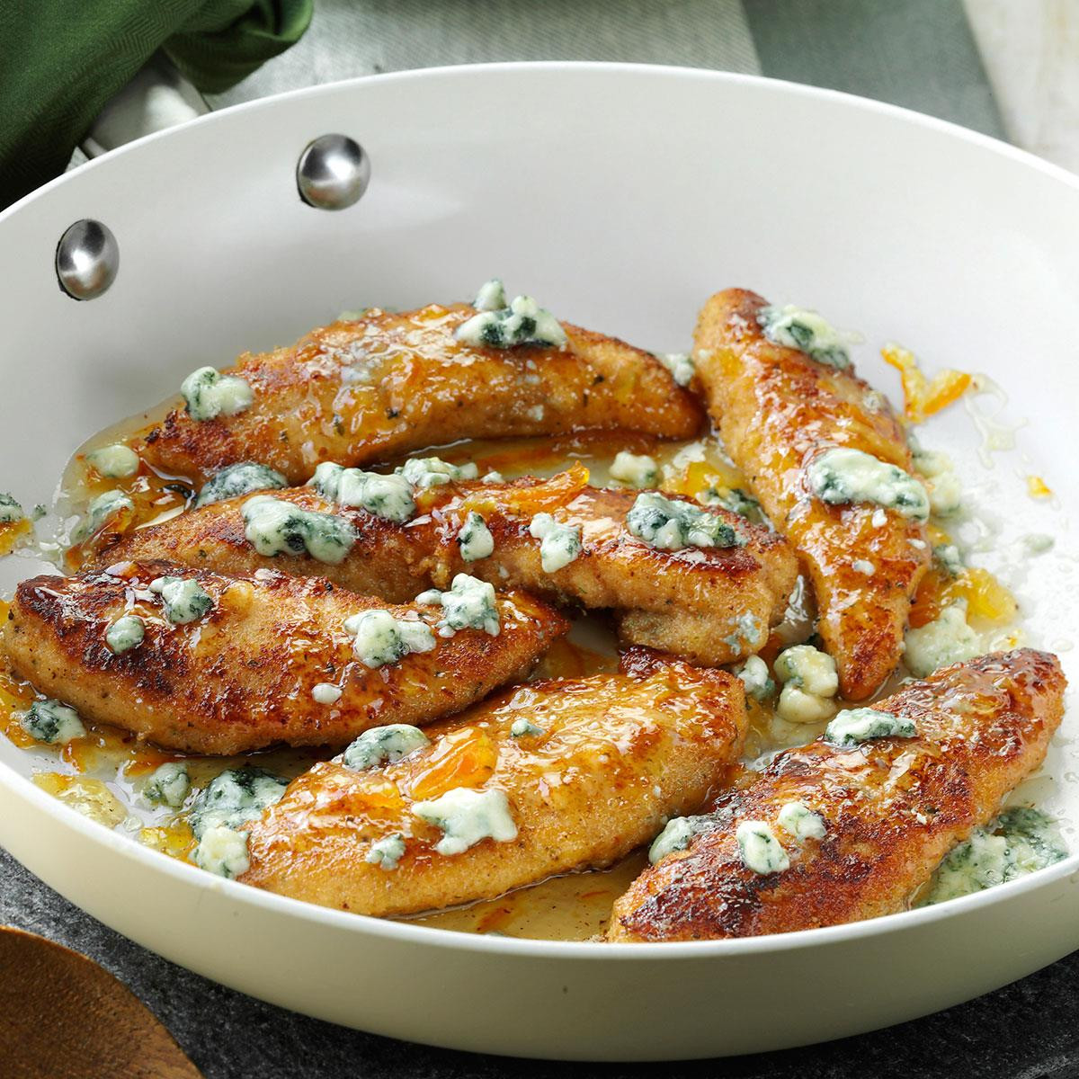 Chicken Tenders Recipe  Gorgonzola & Orange Chicken Tenders Recipe