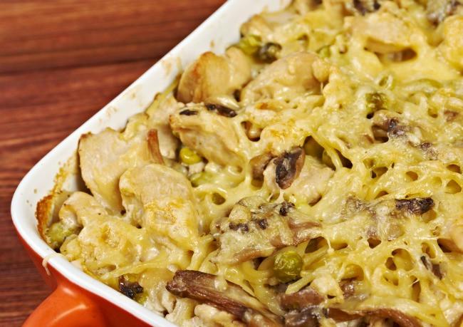 Chicken Tetrazzini Casserole  Chicken Tetrazzini Casserole A tasty easy classic The