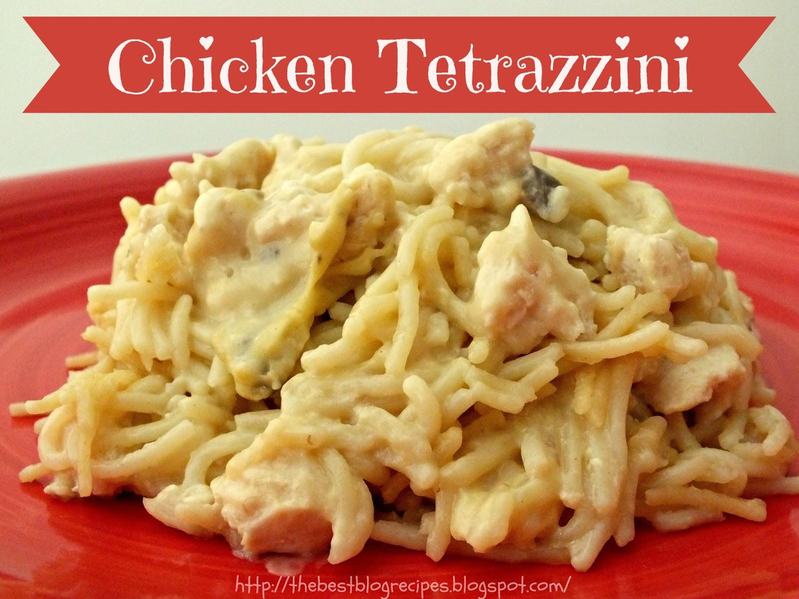 Chicken Tetrazzini Casserole  Chicken Tetrazzini