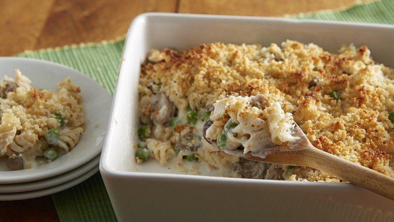 Chicken Tetrazzini Casserole  Chicken Tetrazzini Casserole recipe from Betty Crocker