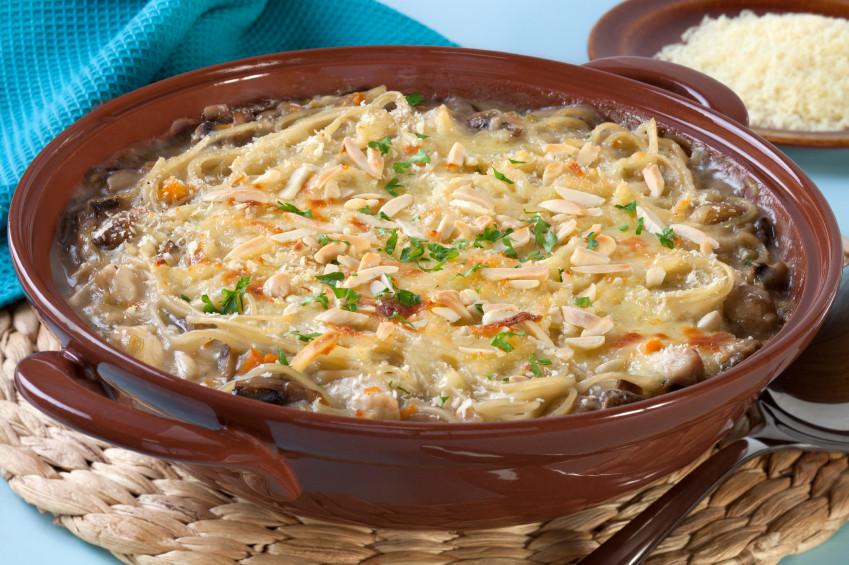 Chicken Tetrazzini Casserole  The Perfect Family Dinner Chicken Tetrazzini Casserole