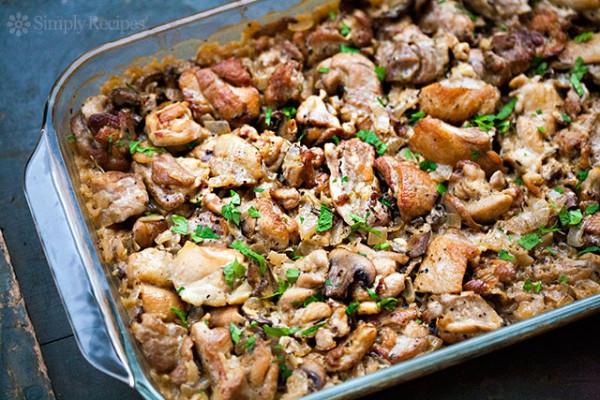 Chicken Thigh Casserole  Chicken Thigh Recipes