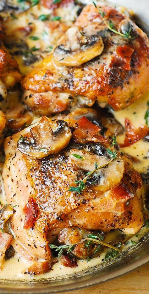 Chicken Thigh Casserole  17 Best ideas about Chicken Thigh Casserole 2017 on