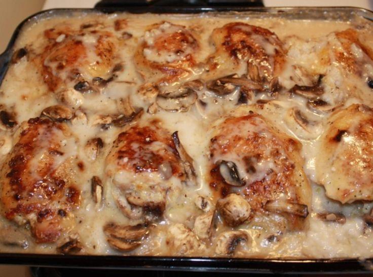 Chicken Thigh Casserole  17 Best ideas about Chicken Thigh Casserole on Pinterest