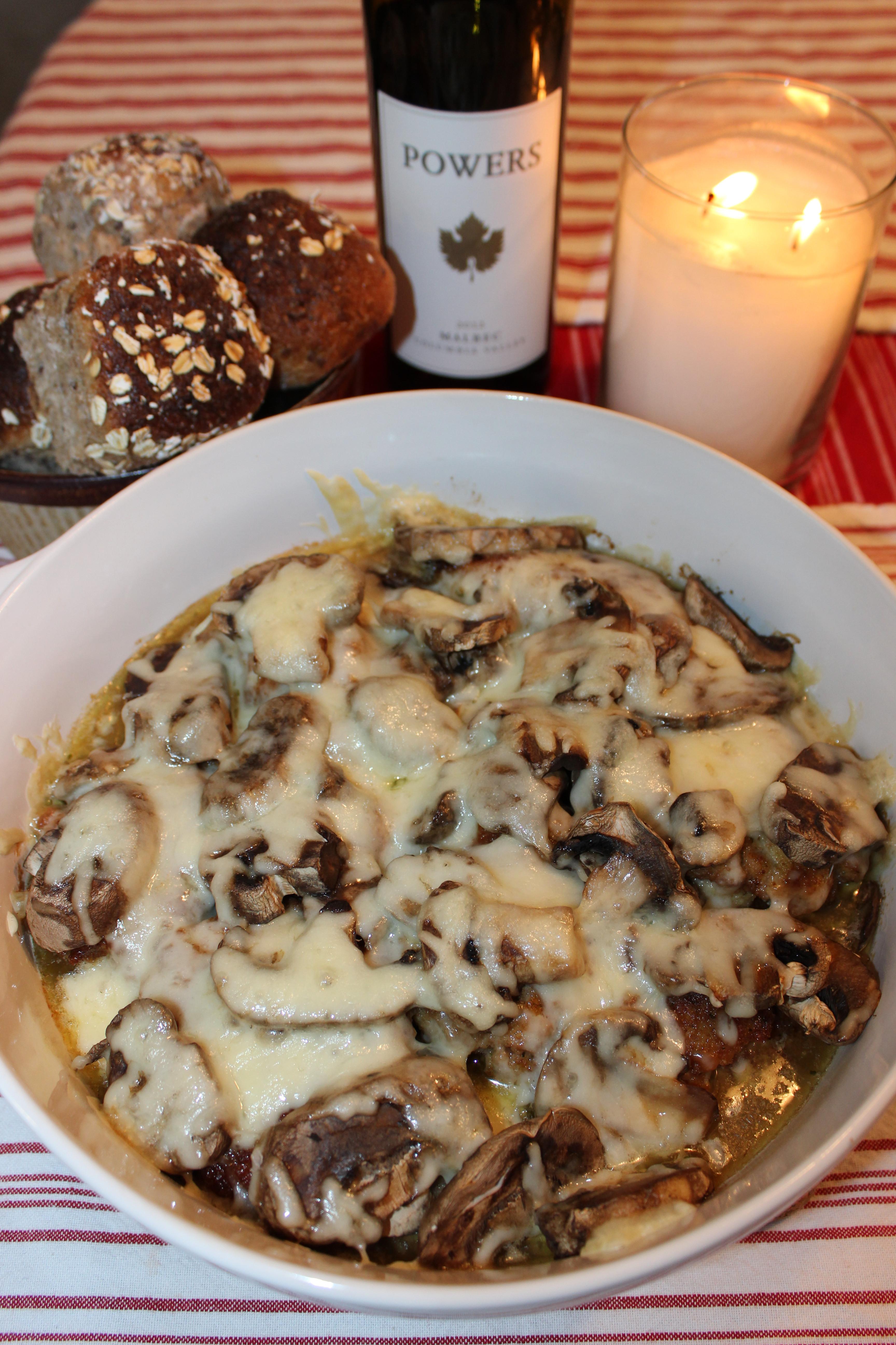 Chicken Thigh Casserole  Mushroom Swiss & Parmesan Chicken Thigh Casserole