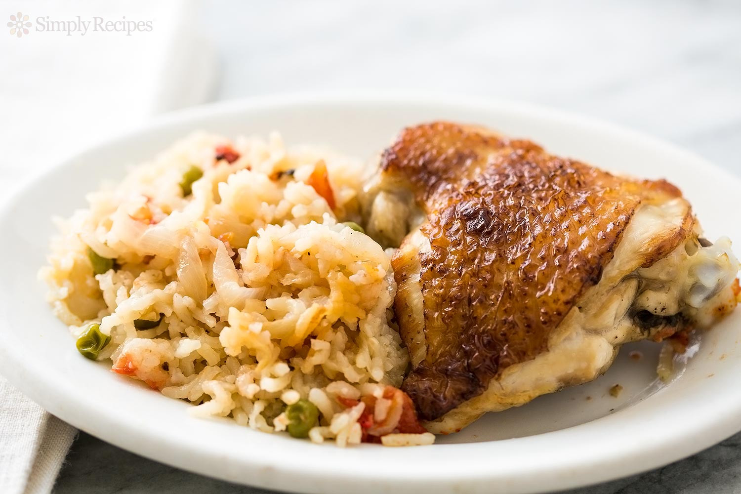 Chicken Thighs And Rice  Slow Cooker Chicken Rice Casserole Recipe