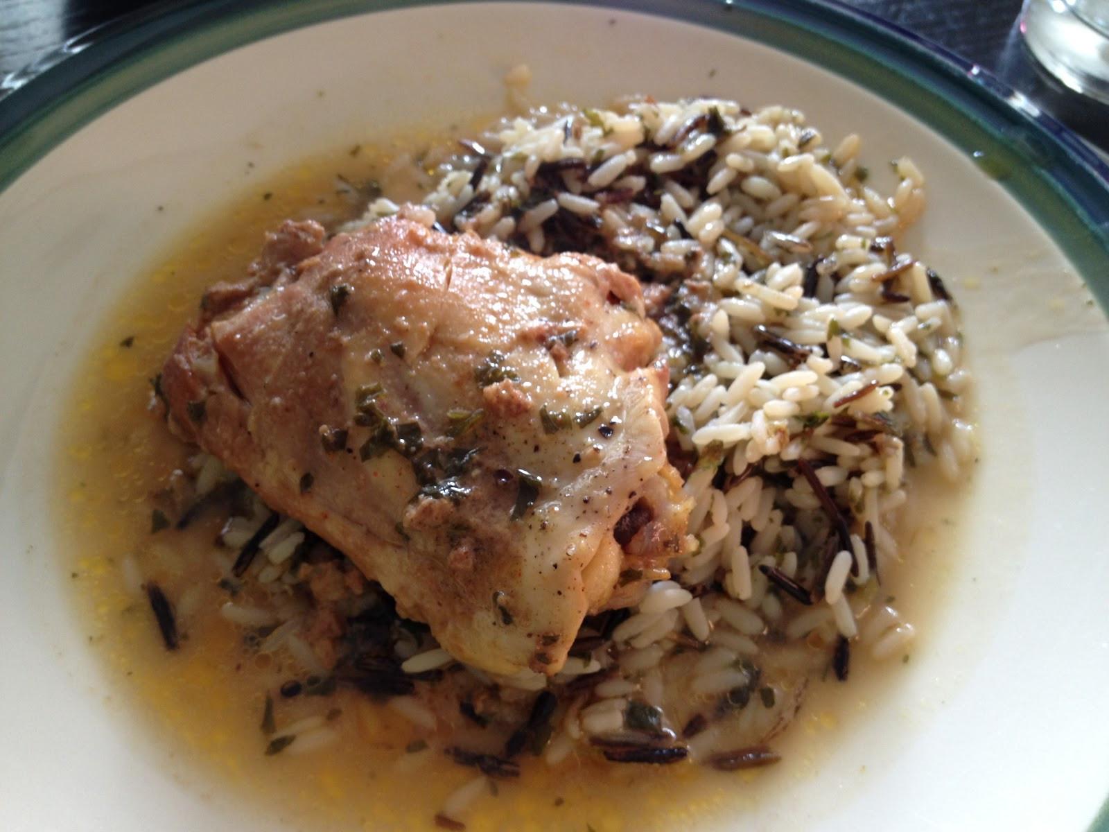 Chicken Thighs In Crock Pot  Marinated Chicken Thighs In Crock Pot