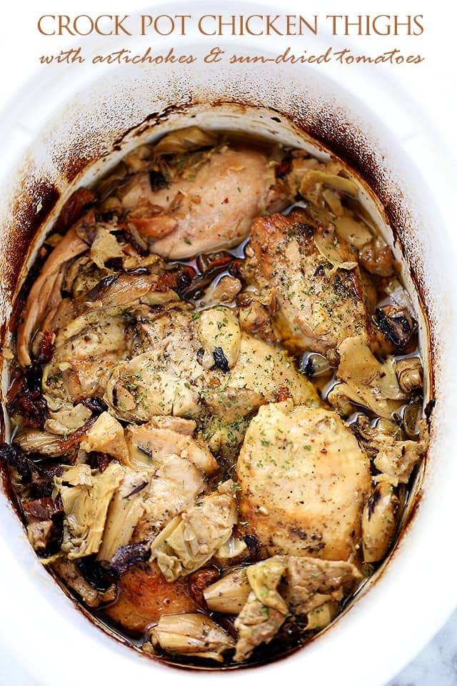 Chicken Thighs In Crock Pot  Easy Weekly Meal Plan 21 – Sweet C s Designs