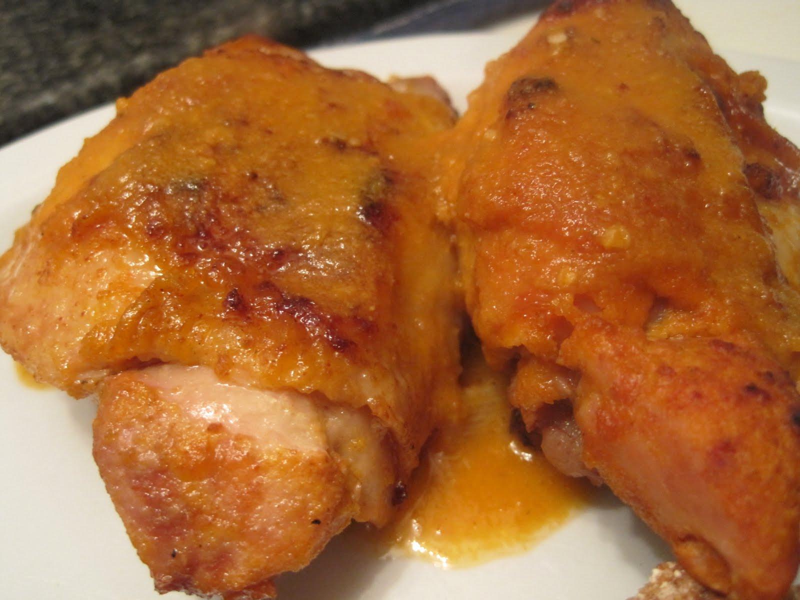 Chicken Thighs In Crock Pot  Corcoran Street Kitchen Saucy Chicken Thighs in the Crock Pot