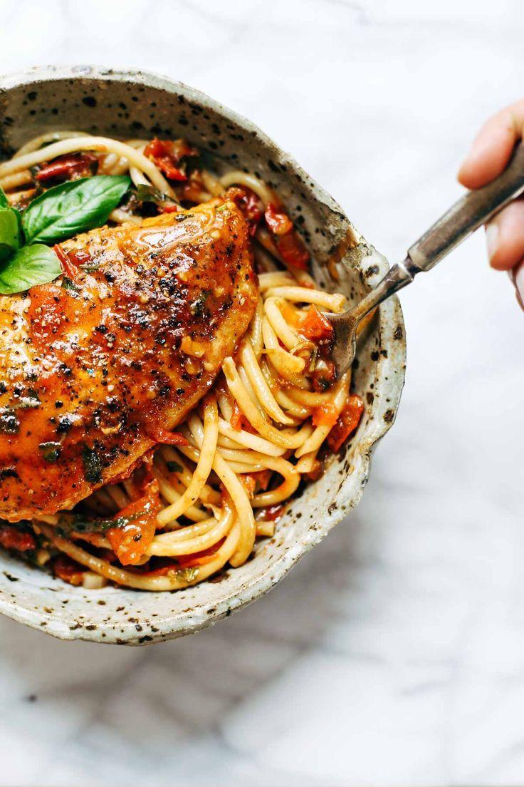 Chicken Tomato Pasta  Best 25 Chicken tomato pasta ideas on Pinterest