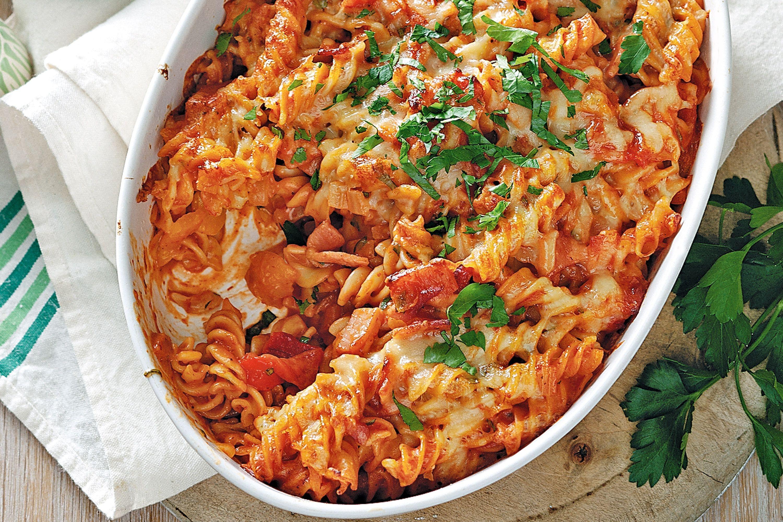Chicken Tomato Pasta  heinz tomato soup pasta bake recipe