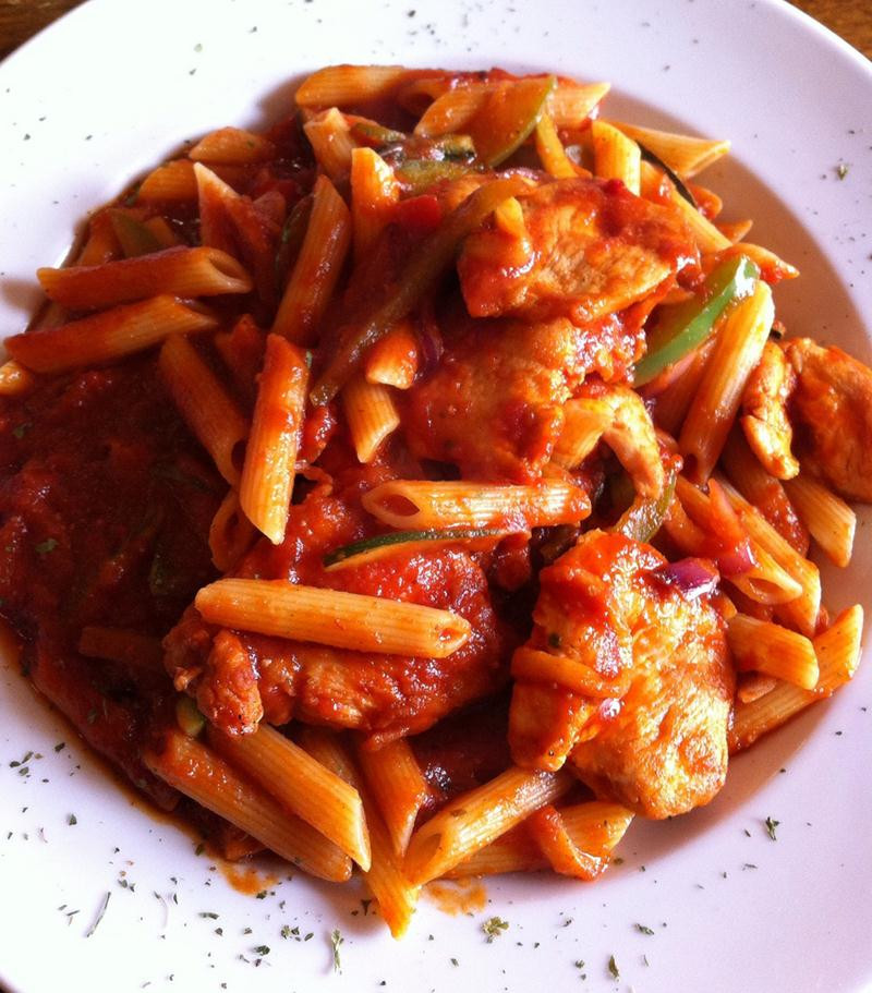 Chicken Tomato Pasta  Chicken Pasta Red Sauce Recipes