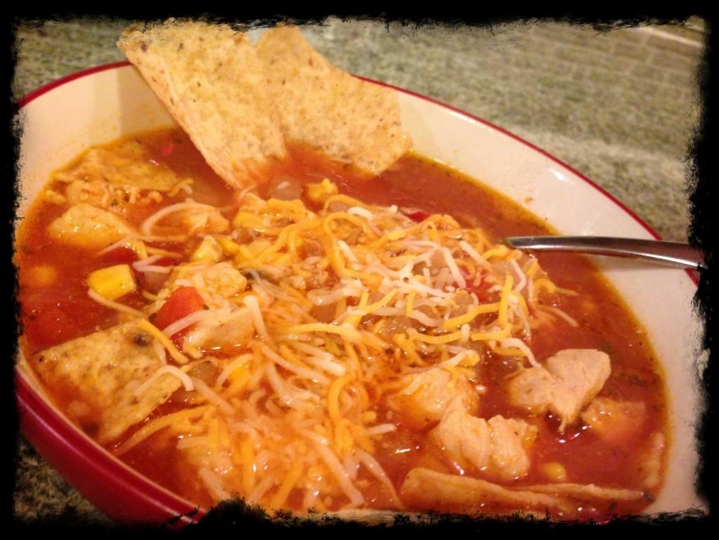 Chicken Tortilla Soup Easy  Recipe