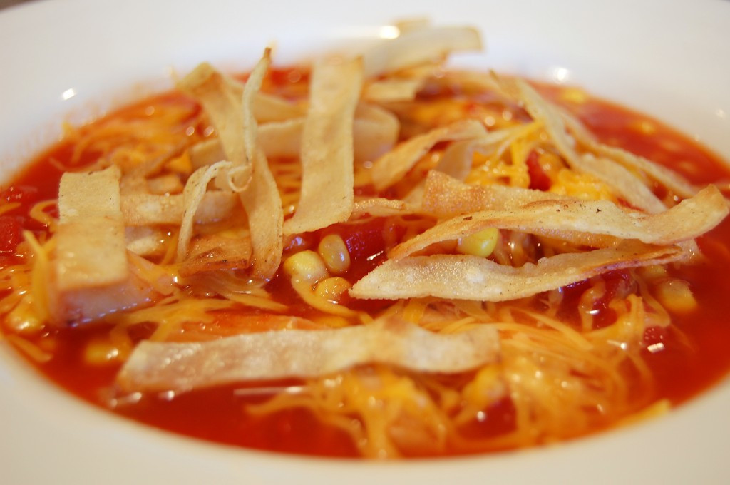 Chicken Tortilla Soup Easy  Chicken Tortilla Soup Recipe