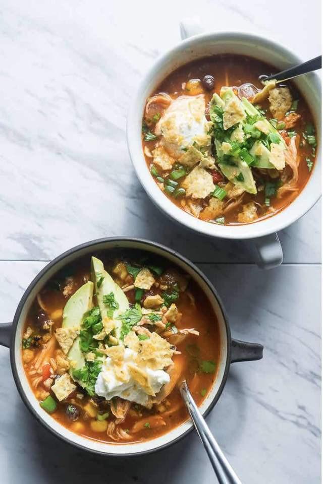 Chicken Tortilla Soup Instant Pot  Best Mexican Instant Pot Recipes Good Food Made Quick