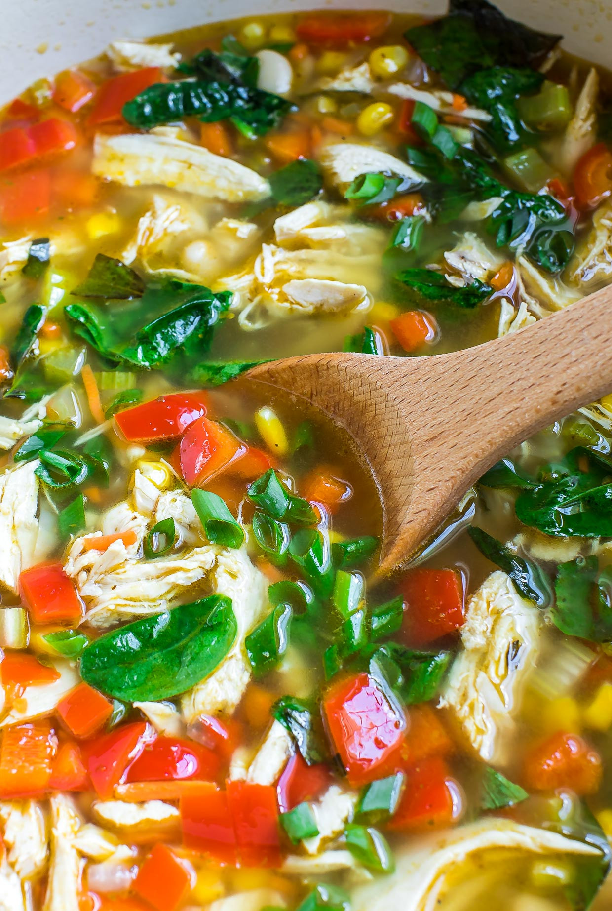 Chicken Vegetable Soup Recipes  e Pot Chicken and Ve able Soup Peas And Crayons