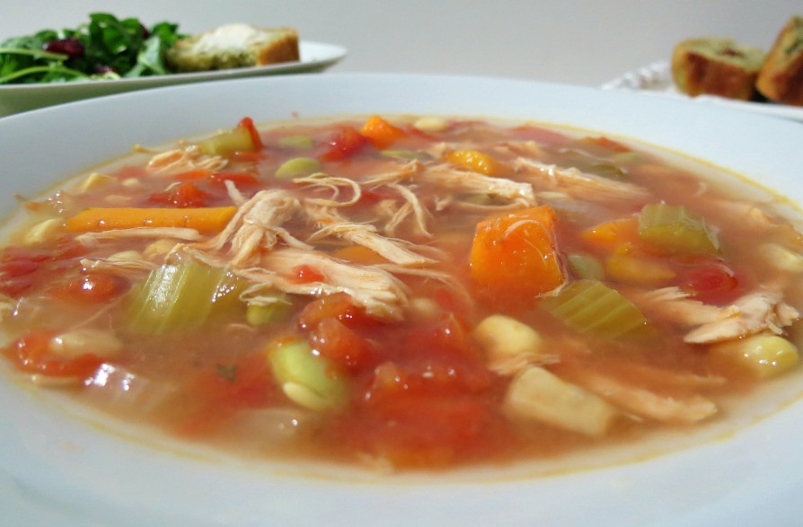 Chicken Vegetable Soup Recipes  Chicken Ve able Soup Weekly Recap
