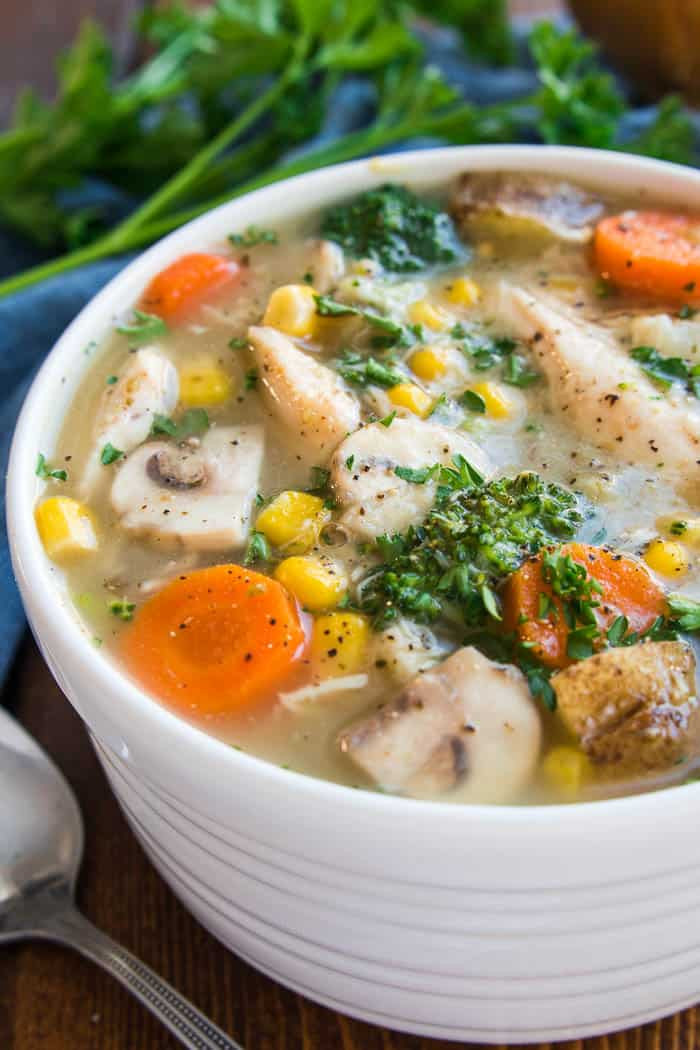 Chicken Vegetable Soup Recipes  Chicken Ve able Soup