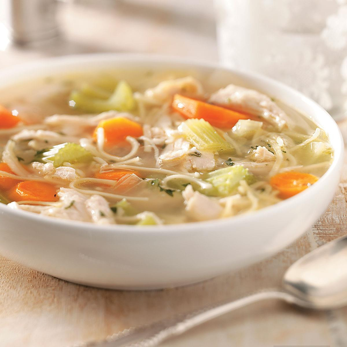 Chicken Vegetable Soup Recipes  Chicken and Ve able Noodle Soup Recipe