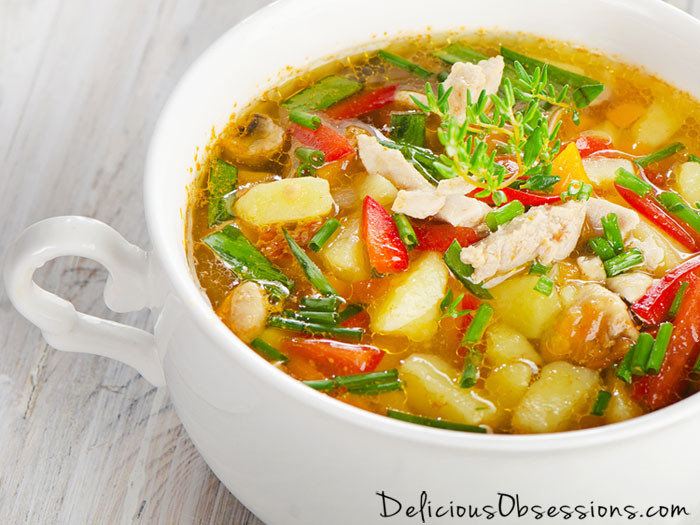 Chicken Vegetable Soup Recipes  Classic Chicken and Ve able Soup Recipe Delicious