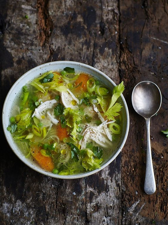 Chicken Vegetable Soup Recipes  Best Chicken and Ve able Soups Recipes for Winter